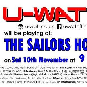 U-Watt rock The Sailors Home Kessingland