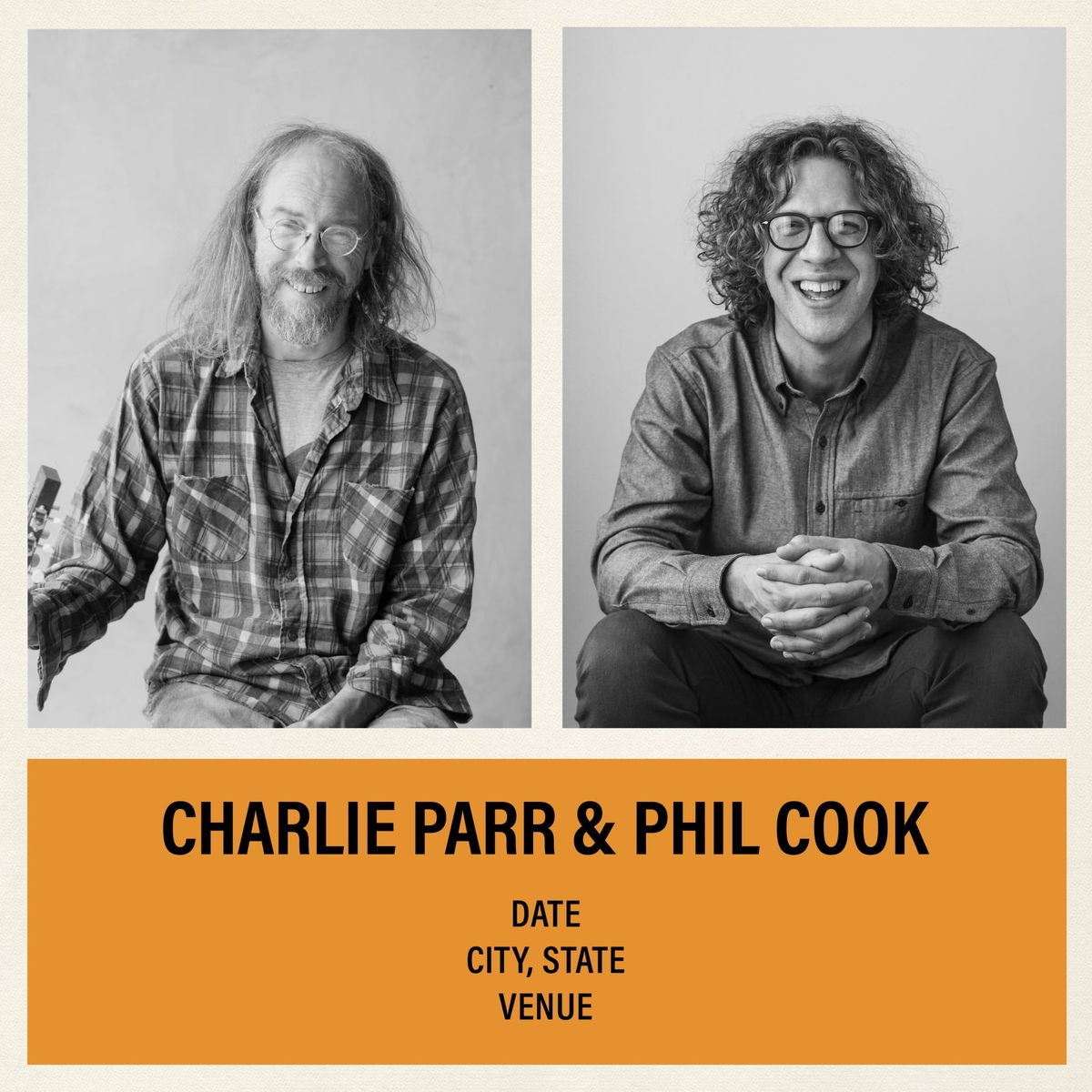 An Evening with Charlie Parr & Phil Cook