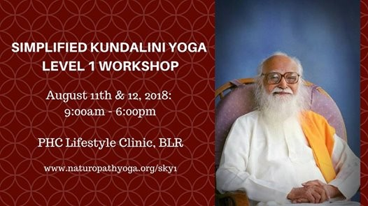Simplified Kundalini Yoga Level 1 Workshop  BeYourOwnDoc
