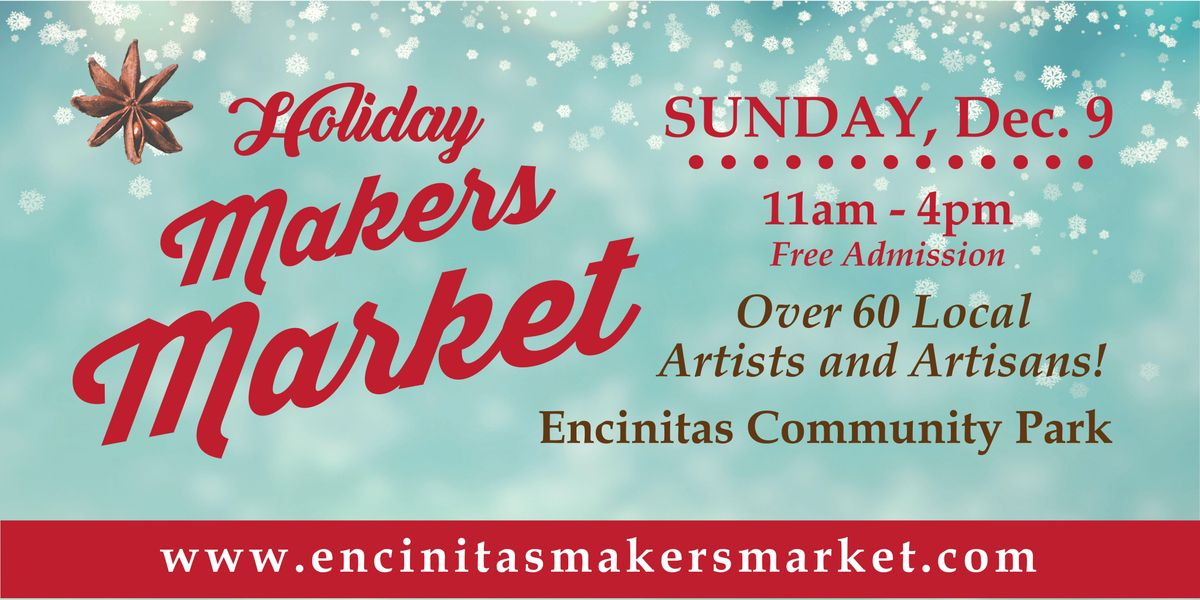 Encinitas Holiday Makers Market