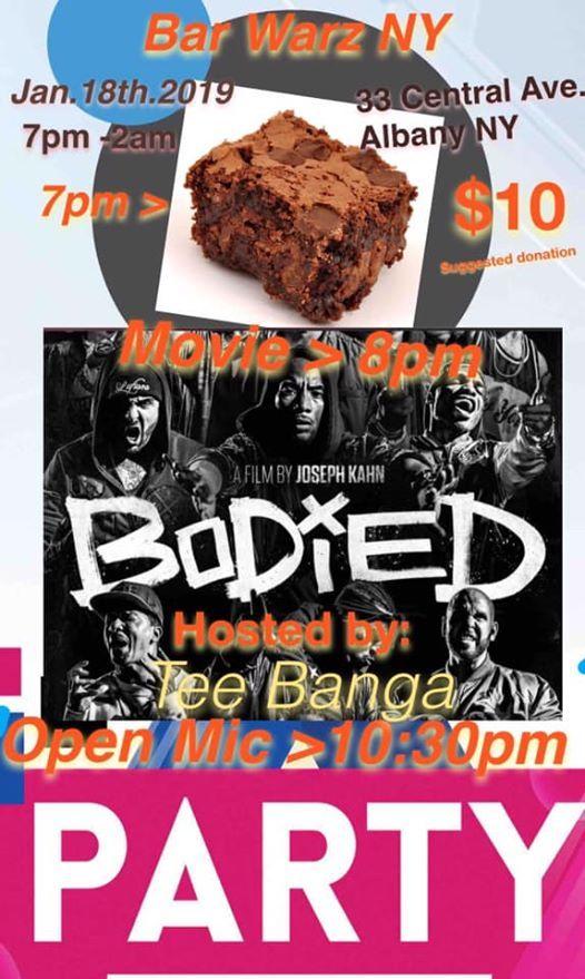 Brownie Movie Open Mic Night
