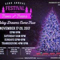 Festival of Trees and Trains