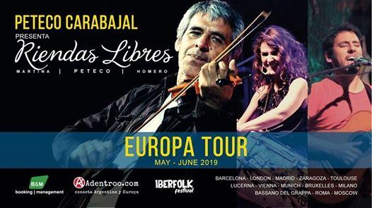Peteco Carabajal pres. Riendas Libres - Europa Tour 2019 -