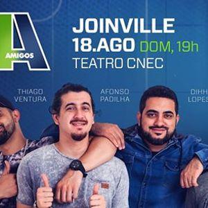 """Novo show &quotOs 4 Amigos"""" em Joinville 18.Agosto  Domingo"""