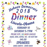 Mohave Democrats LincolnObama Dinner
