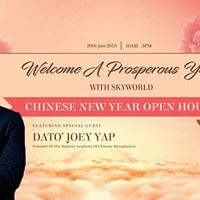 Celebrate An Auspicious New Year with Dato Joey Yap