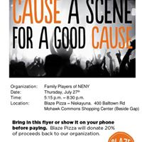Family Players BLAZE PIZZA Fundraiser