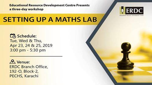 ERDC Workshop Setting up a Maths Lab