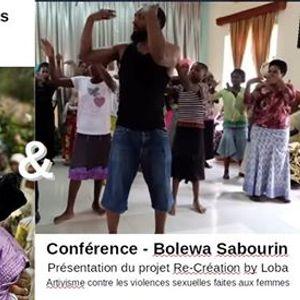 LHomme qui rpare les femmes & Confrence Bolewa Sabourin