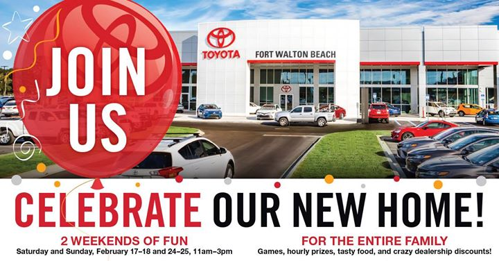 Toyota Of Fort Walton Beach Grand Opening Extravaganza!