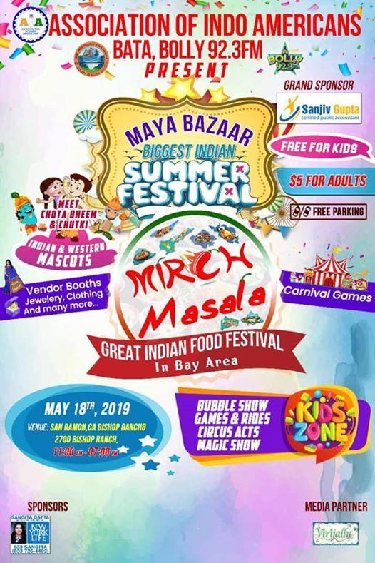 Maya Bazaar - Biggest Indian Summer Festival