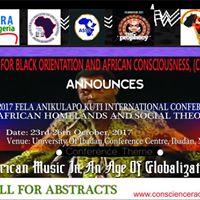 Fela Anikulapo Kuti International Conference (ibadan 2017)