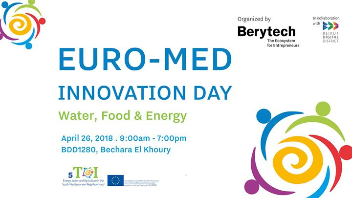 Euro-Med Innovation Day Water Energy Food