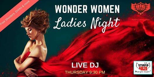 Wonder Women Ladies Night - 12th July