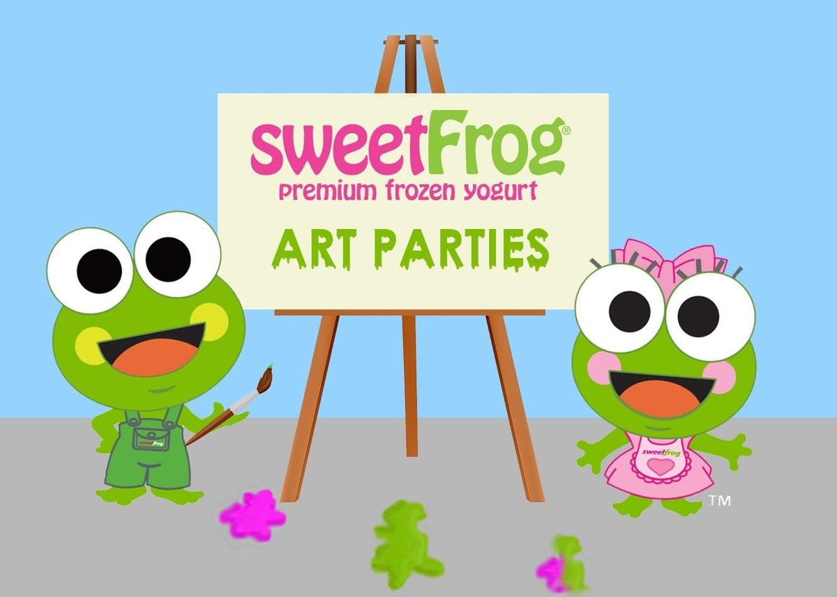 Monthly Paint Party at sweetFrog Edgewater