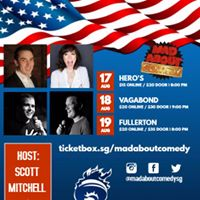 Mad About Comedy at hotel vagabond
