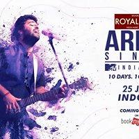 Arijit Singh India Tour  Indore