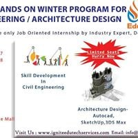 Two Weeks Hands On Winter Internship For Civil Engineering