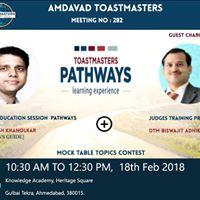 Education Session  Pathways