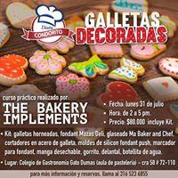 Curso prctico en Barranquilla galletas decoradas