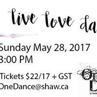 Live Love Dance - Matinee Performance