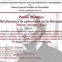 Poetas Malditos Del fracaso y la subversin en la literatura