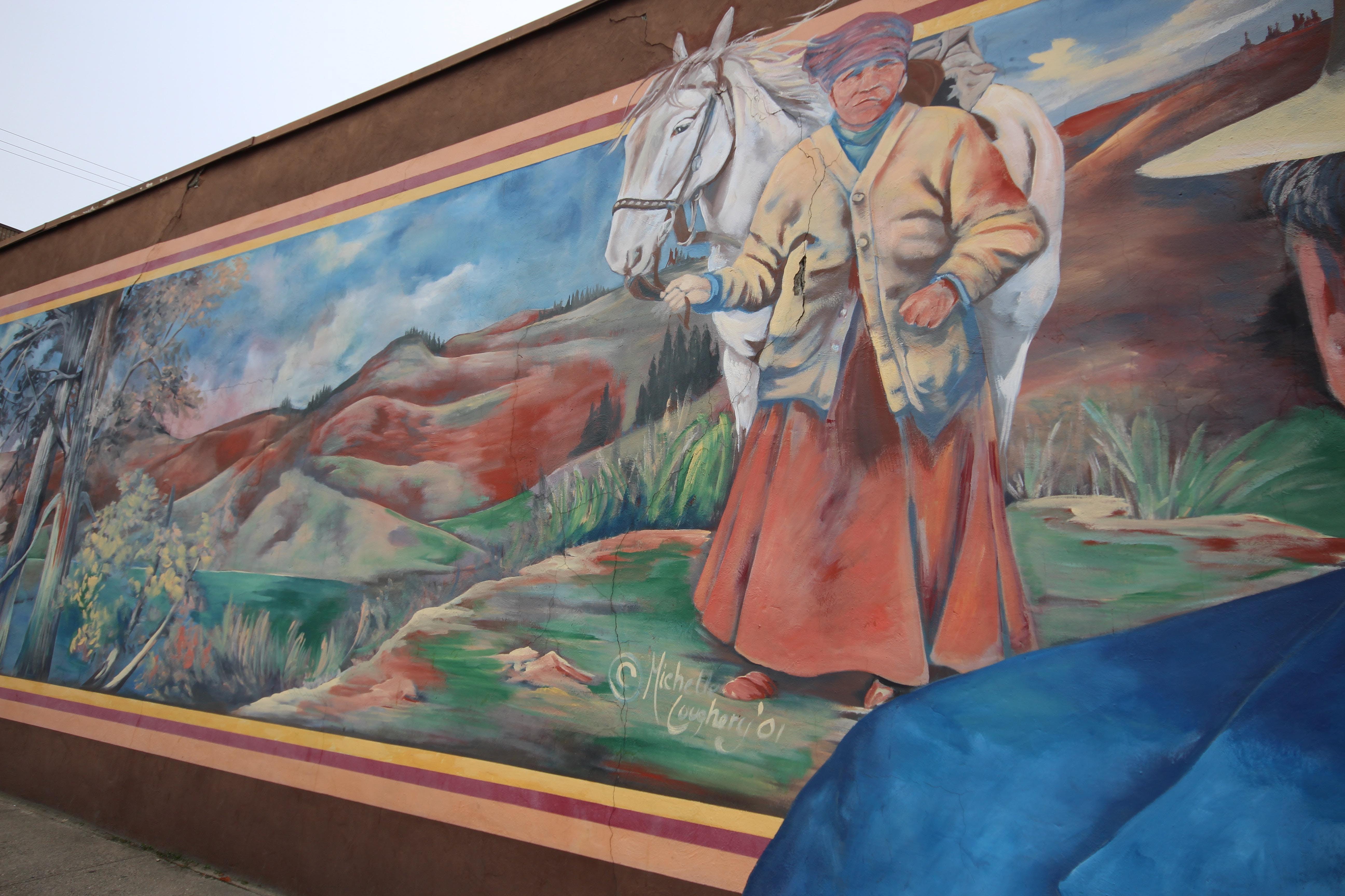 Downtown Vernon Mural Tour