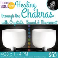 Healing through the Chakras with Crystals Sound &amp Movement