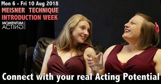 Meisner Technique Introduction Week - Acting Workshop