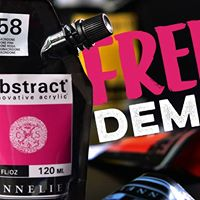 Free Sennelier Paint Demo