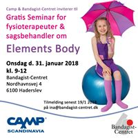 Elements Body seminar for sagsbehandlere &amp fysioterapeuter