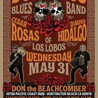 Cesar Rosas  David Hidalgo are Dos Lobos Blues Band