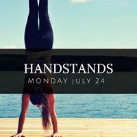 Handstand Workshop in Oakville