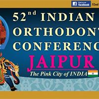 52nd Indian Orthodontic Conference Jaipur