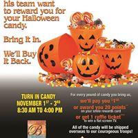 Bottala Halloween Candy Buy Back