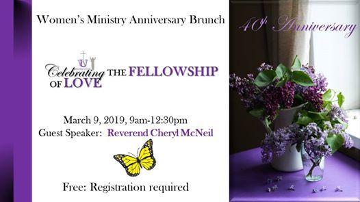 Womens Ministry Anniversary Brunch