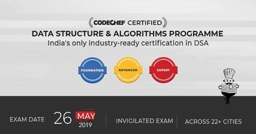 Certification Exam - May 2019