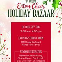 3rd Annual Eaton Cheer Holiday Bazaar