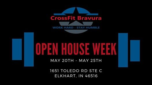 Free Open House Week at CrossFit Bravura