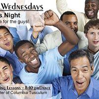 WCSwing Wednesdays Guys Night