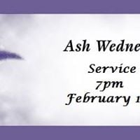 Ash Wednesday Service- Holy Communion and Impostion of the Ashes