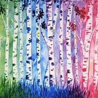 Paint Nite - Summer Series - Birches be Crazy