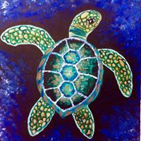 Sea Turtle stencil (20)