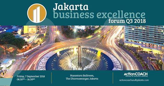 Jakarta Business Excellence Forum Q3 2018