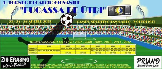 1 Torneo giovanile di calcio Fugassa De Utri