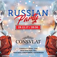 Russian Party &amp Dinner &amp Consvlat
