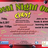 Deaf Night Out at Chuys
