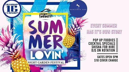 Summer Lovin- Night Garden Festival