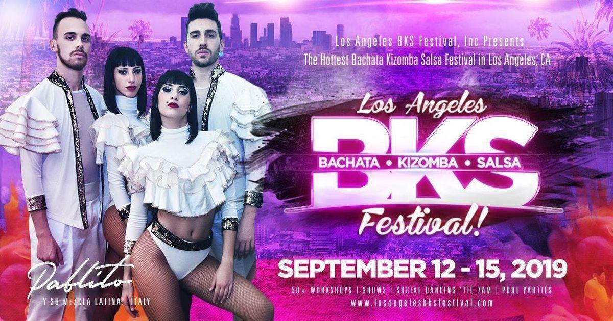 Los Angeles BKS Festival - September 12-15 2019