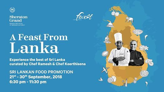 Sri Lankan Food Promotion